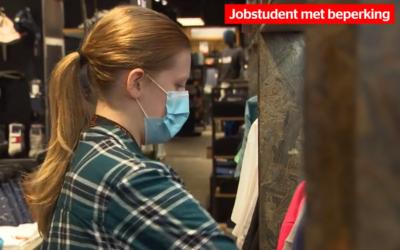 Onbeperkt jobstudent helpt jongeren met beperking aan werk